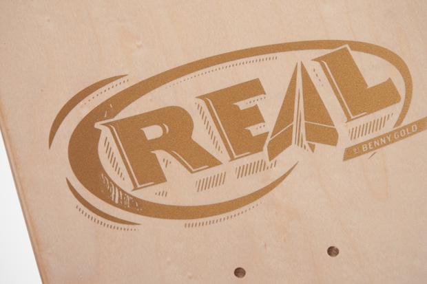 Benny Gold x REAL Skateboards Japan Exclusive Decks