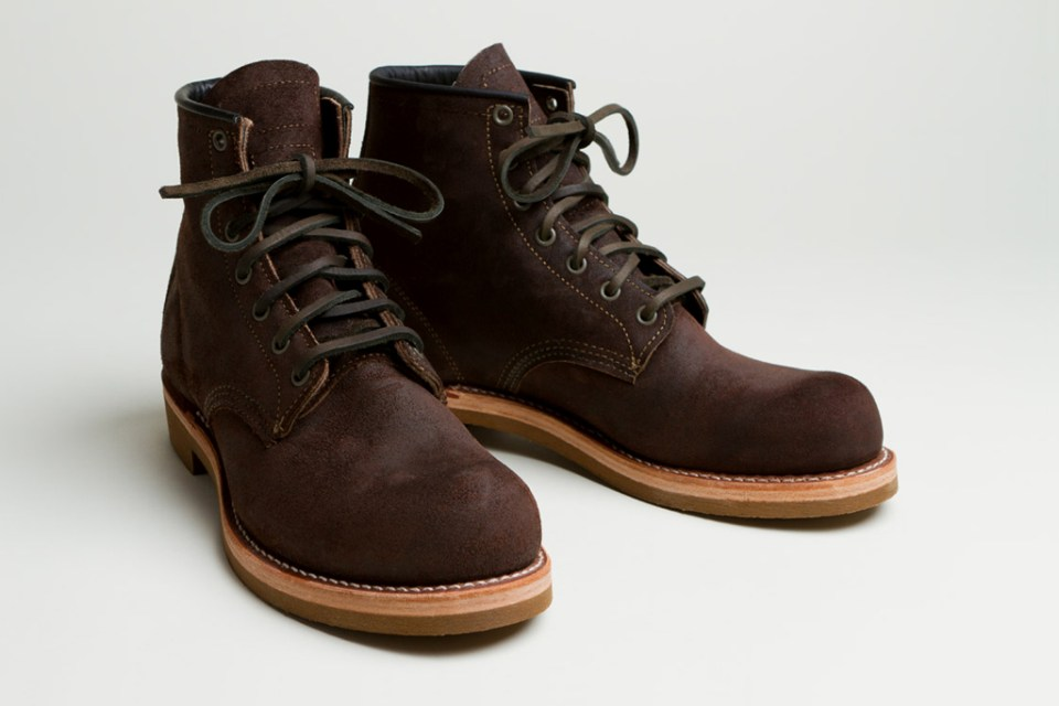 """Bape X Kaws >> Red Wing Heritage x Nigel Cabourn """"The Munson Boot ..."""