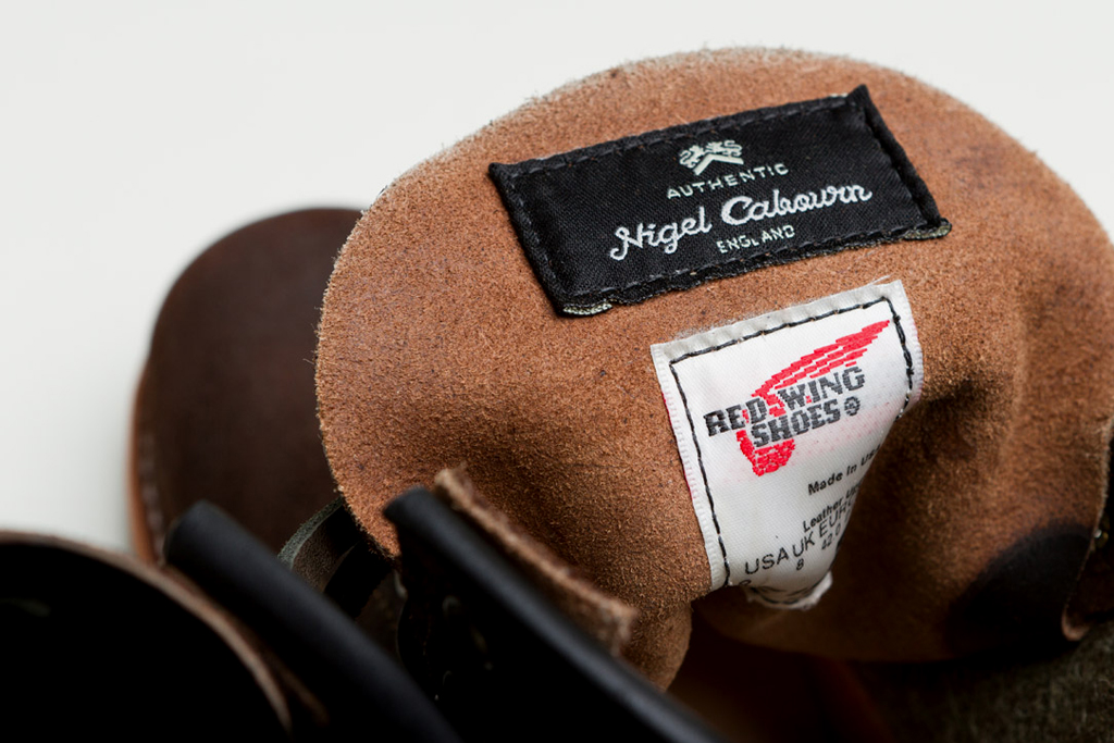 red wing heritage x nigel cabourn the munson boot