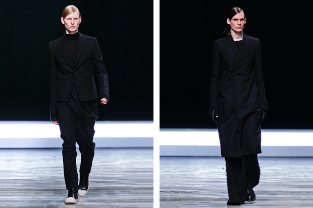 rick owens 2012 fallwinter collection