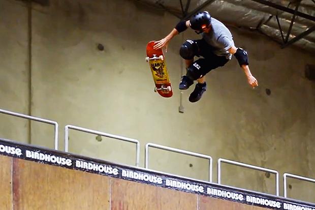 Ride Channel: Tony Hawk 2012 Skate Footage