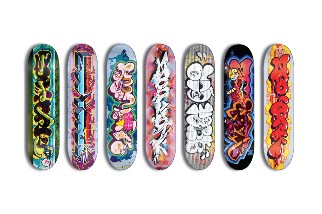 rime theseventhletter for zooyork skate decks