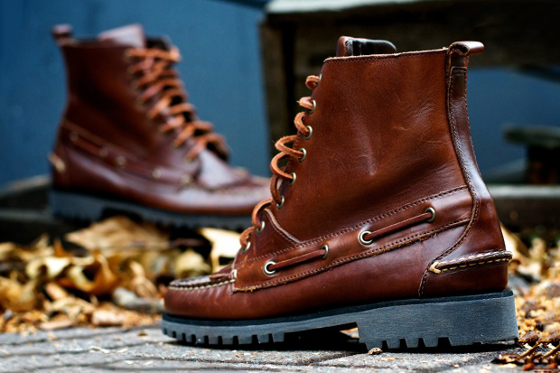 ronnie fieg for sebago delancey boot