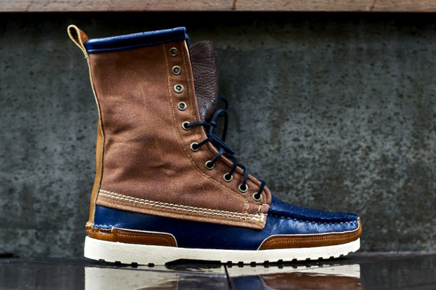 ronnie fieg x quoddy maine woodsman boot