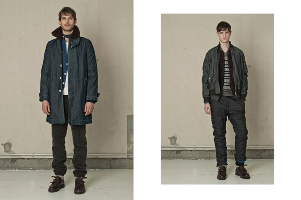 sacai 2012 fallwinter collection