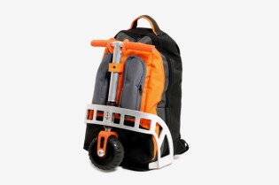 Scooter Backpack by Gustavo Brenck