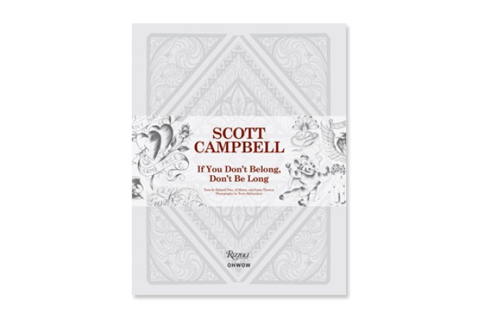Scott Campbell 'If You Don't Belong, Don't Be Long' Book