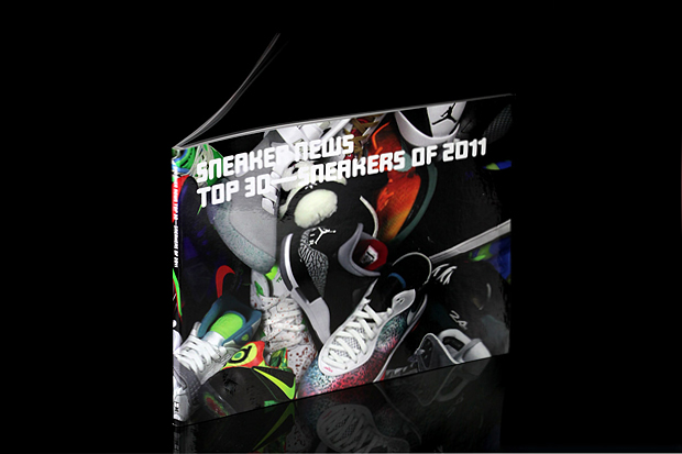 sneaker news top 30 sneakers of 2011 book