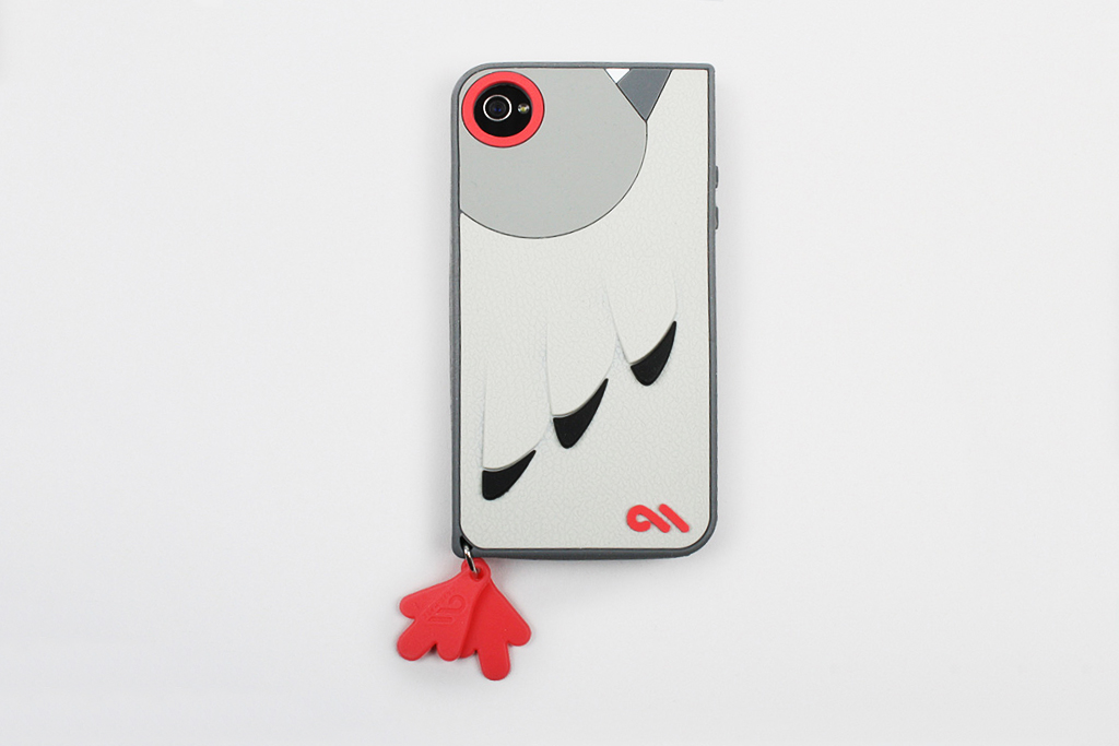 staple design x case mate iphone 44s pigeon textured case