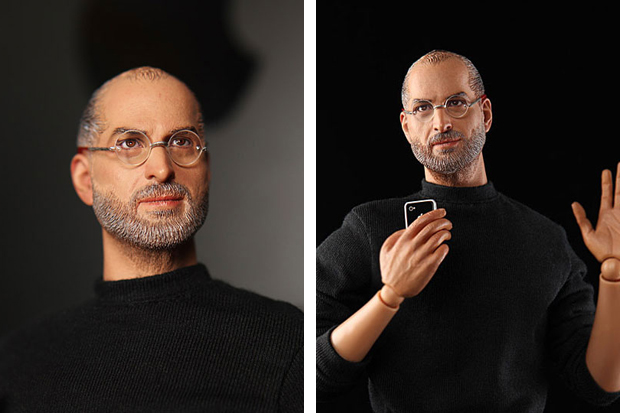 in icons Steve Jobs Action Figure