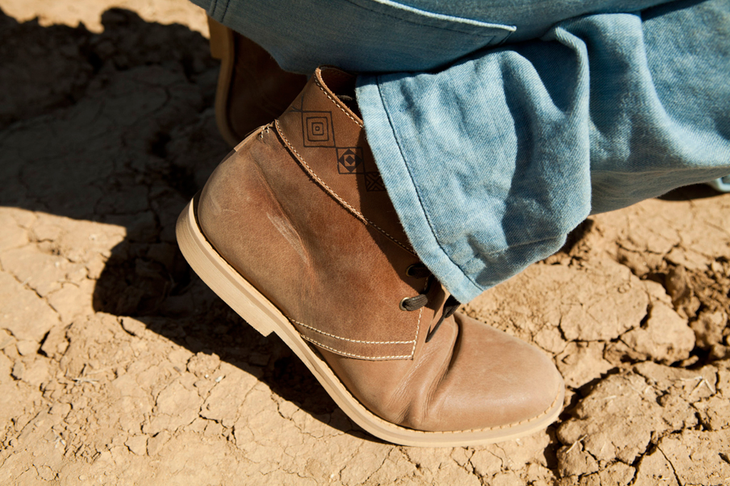 Steven Harrington x Generic Surplus 2012 Spring/Summer Desert Boot