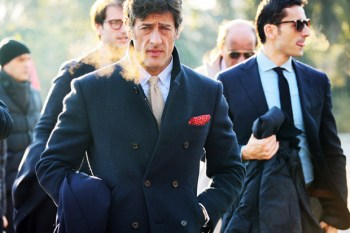 2012 Pitti Uomo Street Style - Day 1