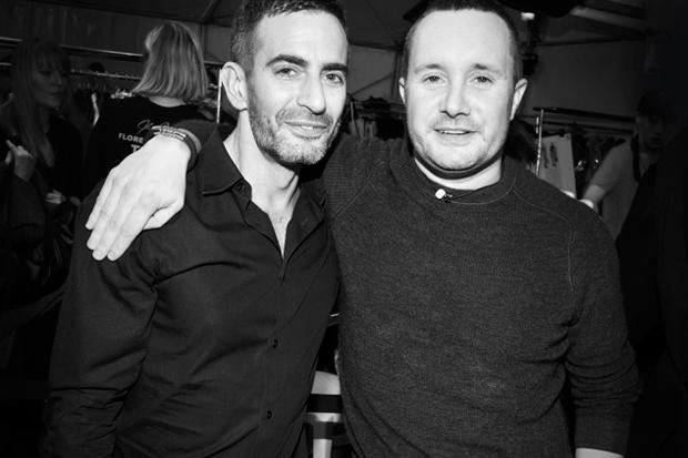 Streetsnaps: Marc Jacobs & Kim Jones @ Louis Vuitton Fashion Show