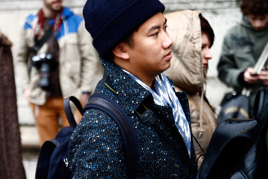streetsnaps tommy ton paris fashion week