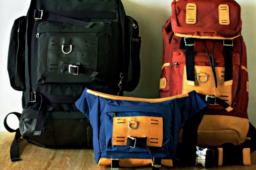 Stussy Deluxe x master-piece 2012 Spring/Summer Bag Collection