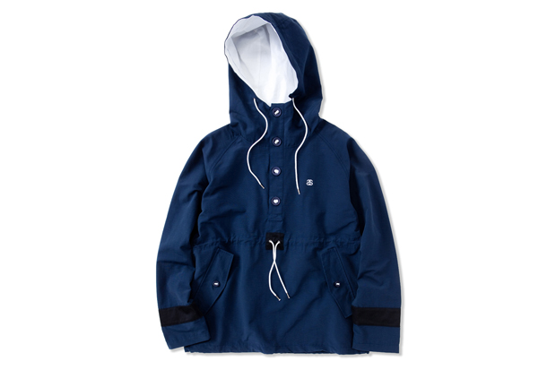stussy japan 2012 springsummer pullover hooded jacket