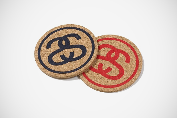stussy japan ss link coaster set