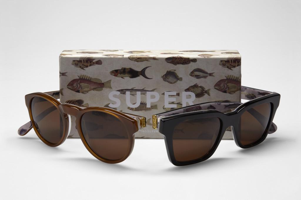 "SUPER Sunglasses 2012 Spring Visiva Series ""Poissons"""