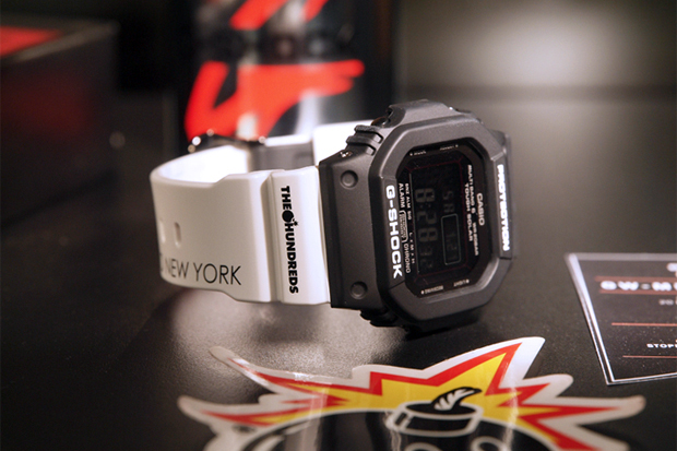 The Hundreds x Casio G-Shock GW 5610 Preview