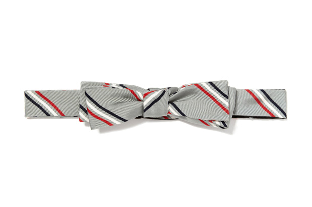 Thom Browne Classic Triple Stripe Bow Tie