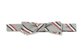 Thom Browne Classic Triple Stripe Bow Tie