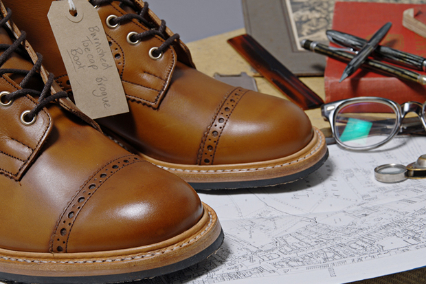 http://hypebeast.com/2012/1/trickers-for-end-hunting-co-burnished-toe-cap-brogue-amp-boot