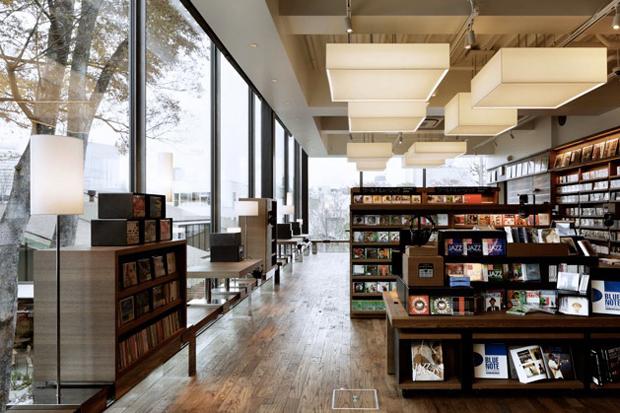 tsutaya books by klein dytham architects