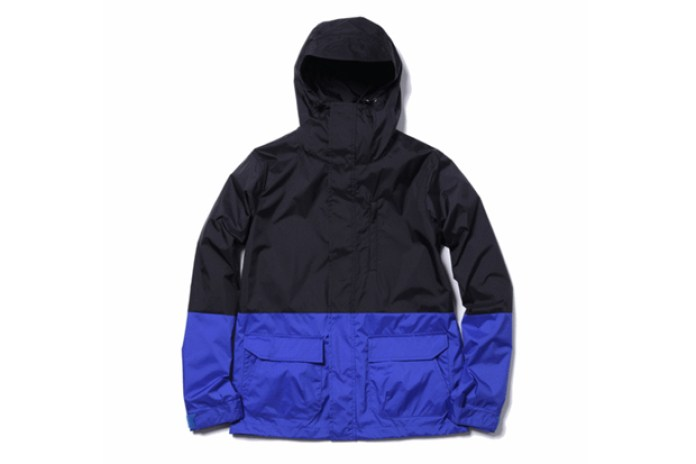 uniform experiment 2012 Spring/Summer 2 TONE HOOD BLOUSON