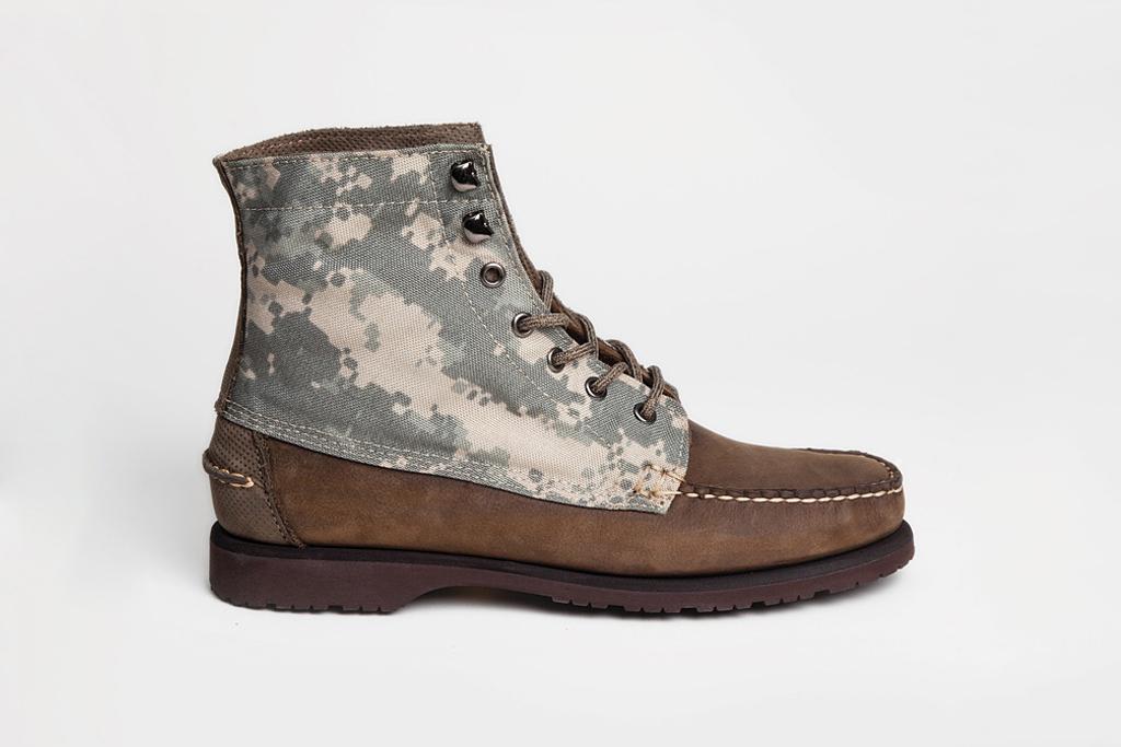 Vane x Sebago 2012 Spring Boot Collection