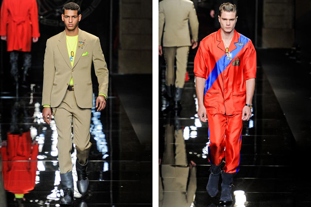 versace 2012 fallwinter collection