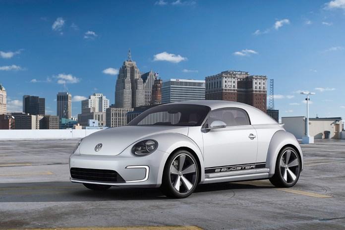 Volkswagen Beetle E-Bugster Concept