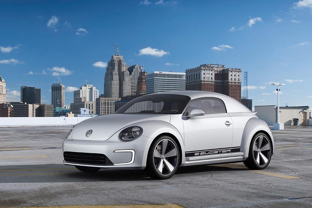 volkswagen beetle e bugster concept