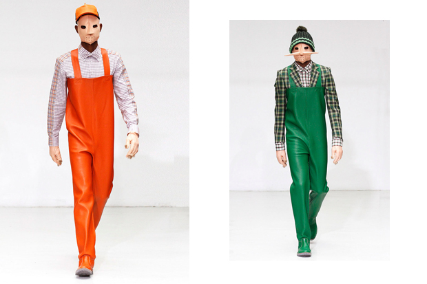 walter van beirendonck 2012 fallwinter collection