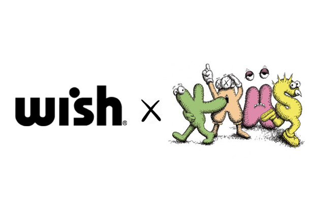 Wish x KAWS 2012 Collaboration Announcement