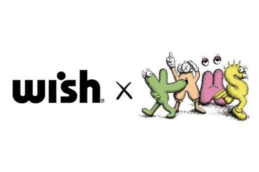 Wish x KAWS 2012 Collaboration Announcement