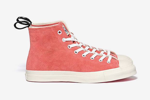 WTAPS Suede Sneaker Red