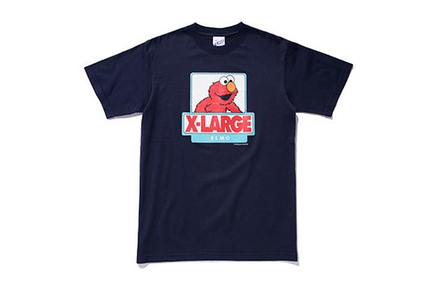 xlarge x sesame street elmo t shirt