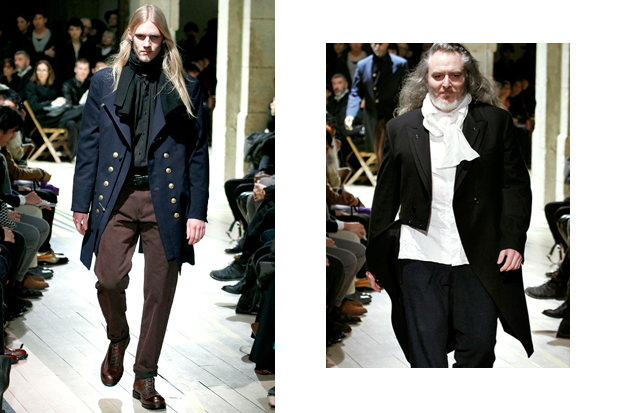 Yohji Yamamoto 2012 Fall/Winter Collection