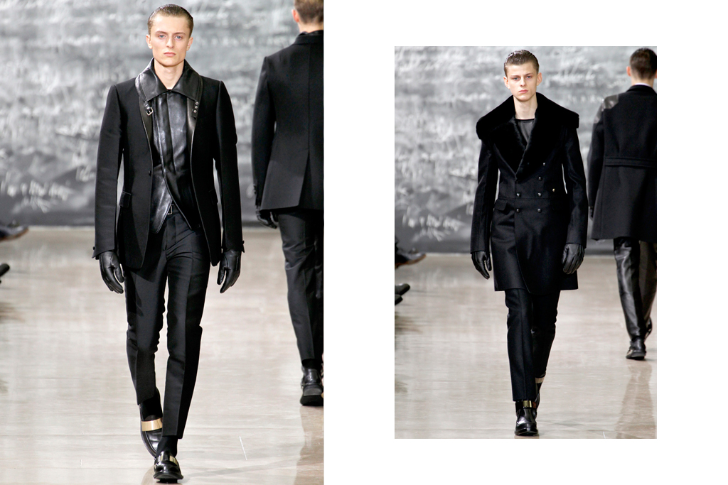 Yves Saint Laurent 2012 Fall/Winter Collection
