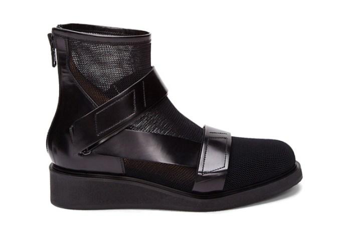 3.1 Phillip Lim Black Guerrero Mesh Boot