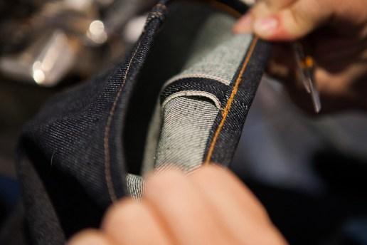 PROCESS: Hemming Denim With a Union Special by Self Edge
