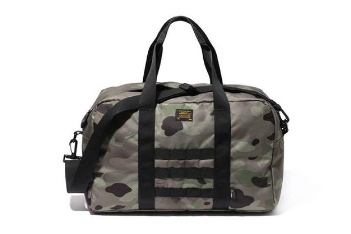 A Bathing Ape 1ST CAMO DRUM BAG