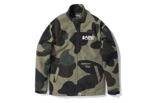 A Bathing Ape GIANT 1ST CAMO RAIN JACKET
