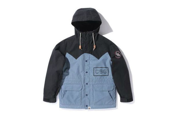 A Bathing Ape OILED CLOTH MOUNTAIN PARKA