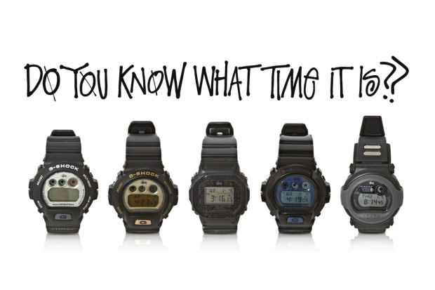 A History of Stussy x G-Shock Collaborations