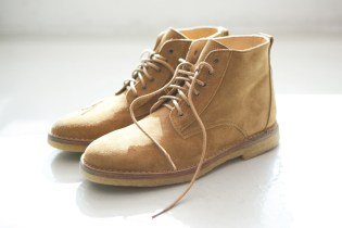 A.P.C. 2012 Spring Lace-Up Boots