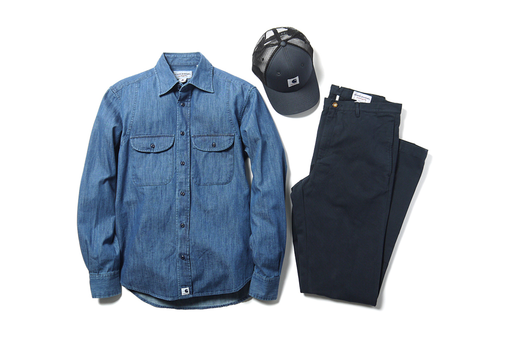 adam kimmel x carhartt 2012 spring summer collection