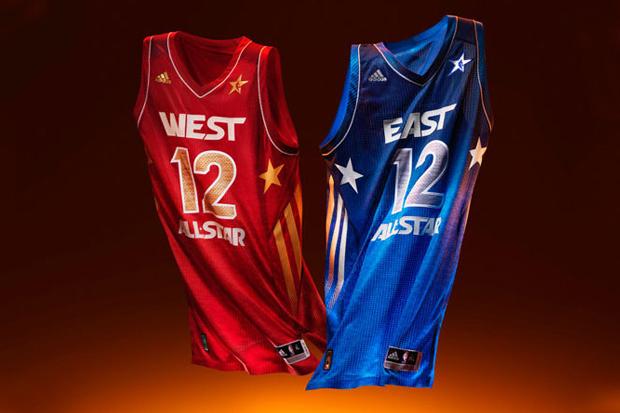 adidas Basketball 2012 NBA All-Star Game Uniforms
