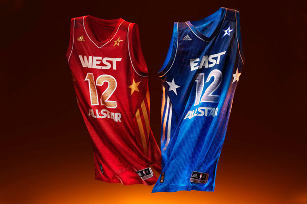 adidas basketball 2012 nba all star game uniforms