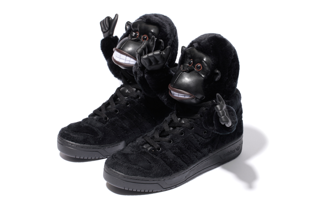 adidas Originals by Jeremy Scott JS GORILLA Further Look